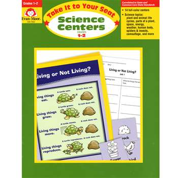 Take It To Your Seat Science Centers Gr 1-2 By Evan-Moor