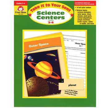 Take It To Your Seat Science Centers Gr 3-4 By Evan-Moor