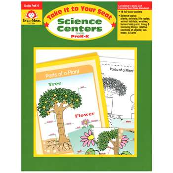 Science Centers Prek-K By Evan-Moor