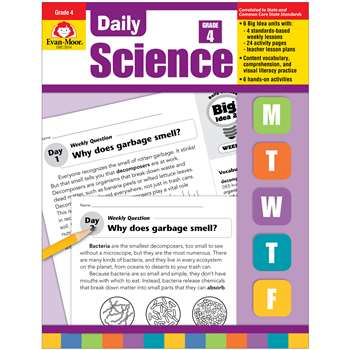 Daily Science Gr 4 By Evan-Moor