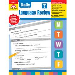 Daily Language Review Gr 2 By Evan-Moor