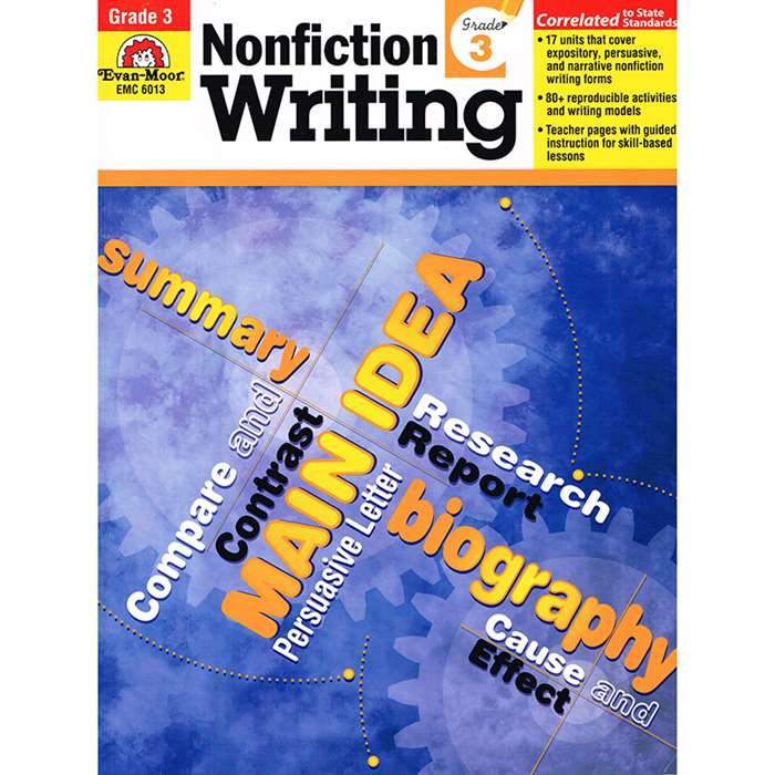 How To Write Nonfiction Gr 3 By Evan-Moor