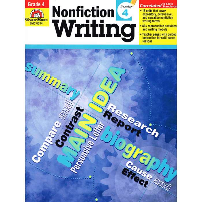 How To Write Nonfiction Gr 4 By Evan-Moor