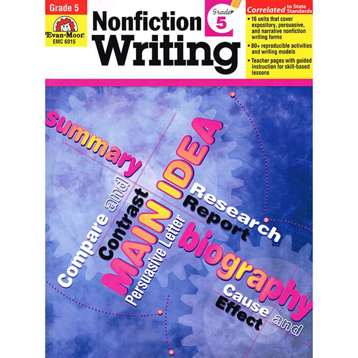 How To Write Nonfiction Gr 5 By Evan-Moor