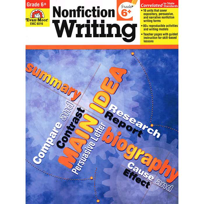 How To Write Nonfiction Gr 6 By Evan-Moor