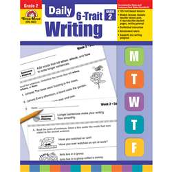 Daily 6 Trait Writing Gr 2 By Evan-Moor