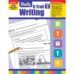 Daily 6 Trait Writing Gr 3 By Evan-Moor