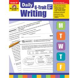 Daily 6 Trait Writing Gr 6 By Evan-Moor