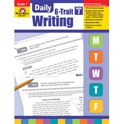 Daily 6 Trait Writing Gr 7 By Evan-Moor