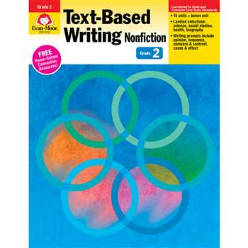 Shop Gr 2 Text Based Writing Lessons For Common Core Mastery - Emc6032 By Evan-Moor