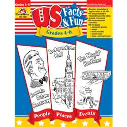 U.S. Facts & Fun Grades 4-6 By Evan-Moor