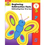 Beginning Subtraction Subtracting From 10 Or Less By Evan-Moor