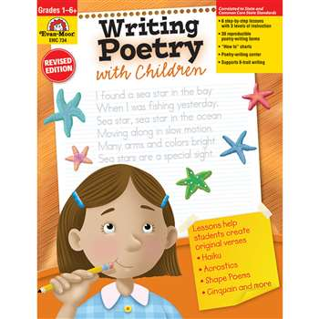 Writing Poetry With Children Gr 1-6 By Evan-Moor