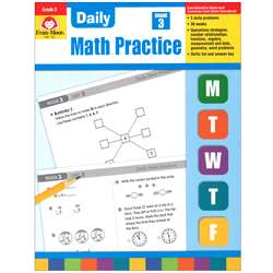 Daily Math Practice Grade 3 By Evan-Moor