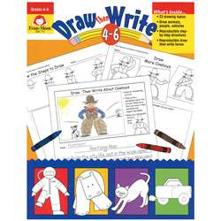 Draw Then Write Grade 4-6, EMC773