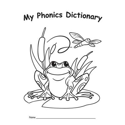 My Phonics Dictionary 10-Pk By Edupress