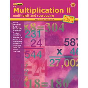 Multiplication 2 Multi-Digit & By Edupress