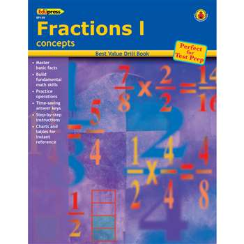 Fractions 1 Concepts By Edupress