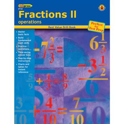 Fractions 2 Operations By Edupress