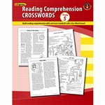 Comprehension Crosswords Book Gr 5 By Edupress