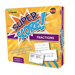 Super Score Game Fractions Gr 3, EP-2083