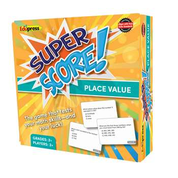 Super Score Place Value Gr 2-3, EP-2084