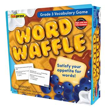 Word Waffle Game Gr 3, EP-2094