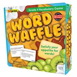 Word Waffle Game Gr 4, EP-2095
