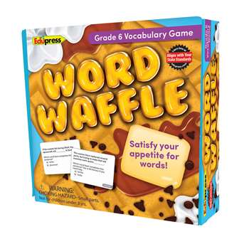 Word Waffle Game Gr 6, EP-2097