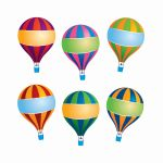 Hot Air Balloons Accents, EP-212