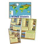 World Biomes Bulletin Board Set By Edupress