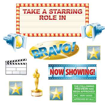 Take A Starring Role In Our Class Bulletin Board Set By Edupress