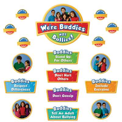 Were Buddies Not Bullies Bulletin Board Set By Edupress