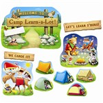 Camp Learn A Lot Bulletin Board Set By Edupress