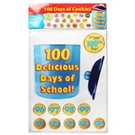 100 Days Of Cookies Bulletin Board Set By Edupress