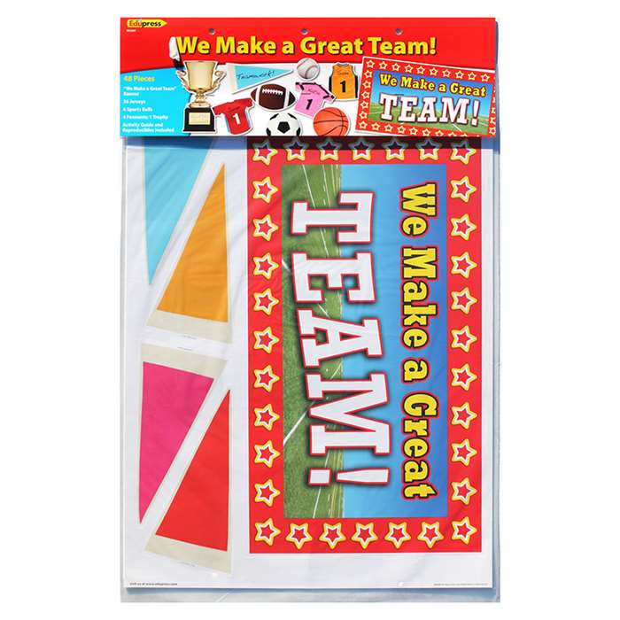 We Make A Great Team Bulletin Board Set By Edupress