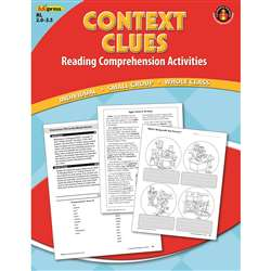 Context Clues Comprehension Book Red Level By Edupress