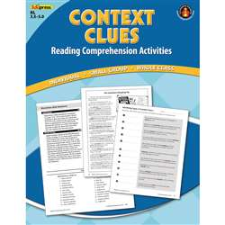 Context Clues Comprehension Bk Blue Level By Edupress