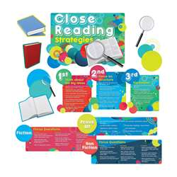 Close Reading Strategies Bulletin Board Set, EP-237