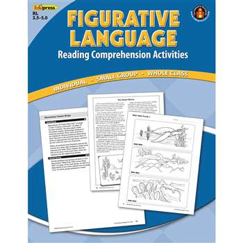 Figurative Language Comprehension Bk Blue Level By Edupress