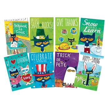 Pete The Cat Holiday And Seasonal Poster Set, EP-238