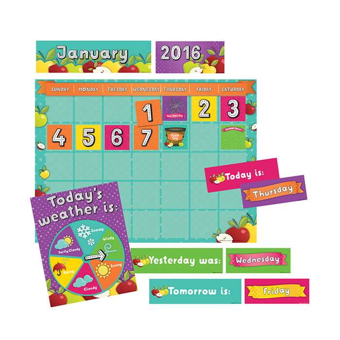 Awesome Apples Calendar Kit, EP-2428