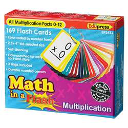 Math In A Flash Multiplication Flash Cards By Edupress
