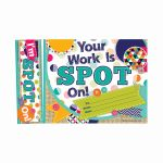 Your Work Is Spot On Bookmark Award, EP-244
