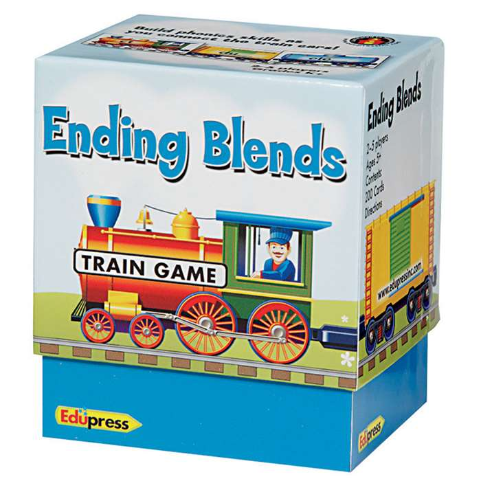 Train Game Ending Blends By Edupress