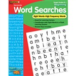 Sight Word Searches Beginning Gr K-1 By Edupress