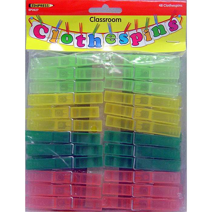 Shop Classroom Clothesline Extra Clothes Pins - Ep-2627 By Edupress
