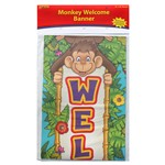 Monkey Welcome Banner By Edupress