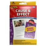 Cause And Effect Reading Comprehension Cards Yellow Level By Edupress