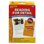 Reading For Detail Reading Comprehension Cards Yellow By Edupress